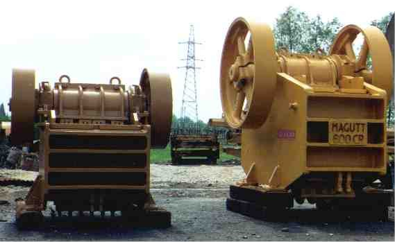 Jaw crusher Loro & Parisini Magutt 500CR single toggle