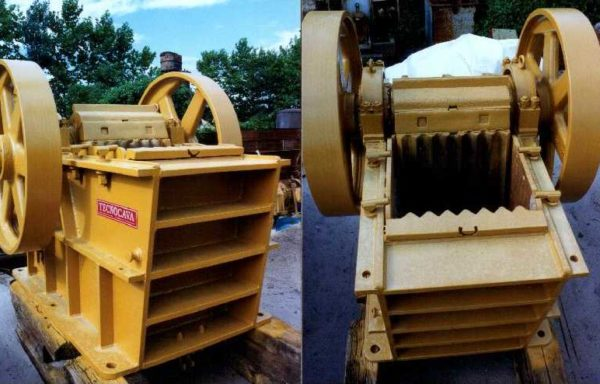Jaw crusher type Fiorentini FM 806 single toggle