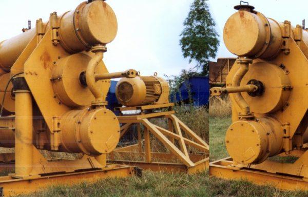 Vibration mill HUMBOLDT WEDAG type PALLA 50-U