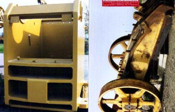 Jaw crusher type 1250 CR single toggle